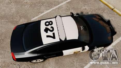 Dodge Charger 2010 LCHP [ELS] para GTA 4 visión correcta