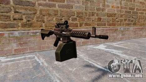 Ametralladora ligera de Ares Shrike 5,56 para GTA 4