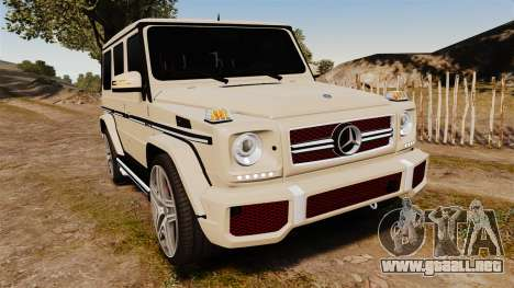 Mercedes-Benz G65 (W463) 2012 AMG para GTA 4
