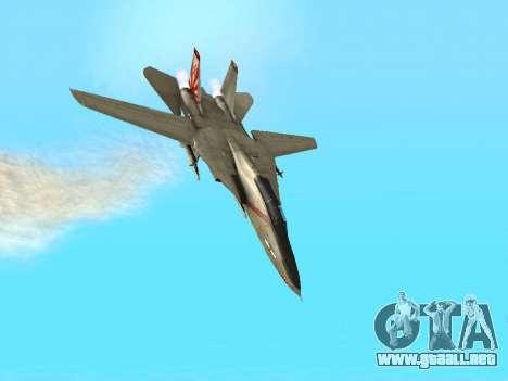 F-14 LQ para vista lateral GTA San Andreas