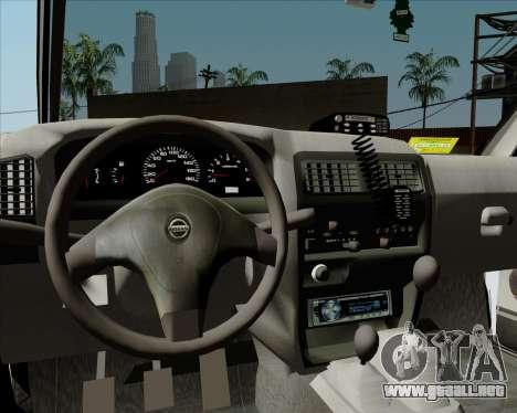 Nissan Terrano para vista inferior GTA San Andreas