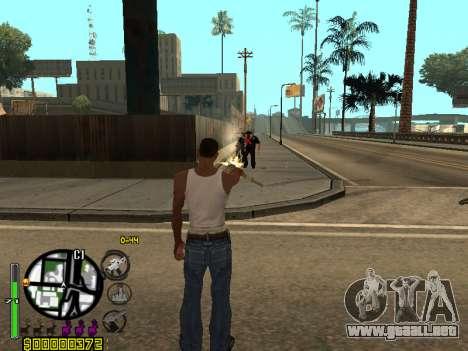 C-HUD by Leytenant para GTA San Andreas