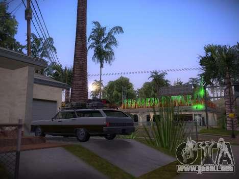 ENBSeries by Pablo Rosetti para GTA San Andreas segunda pantalla