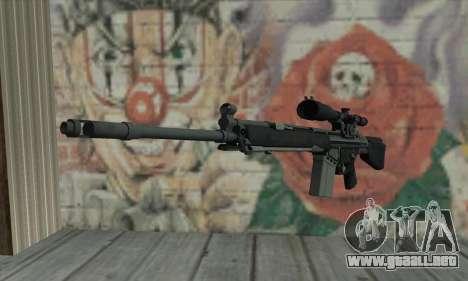 Rifle de francotirador de L4D para GTA San Andreas