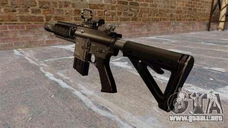 Automático carabina M4A1 SEAL de la Marina para GTA 4 segundos de pantalla