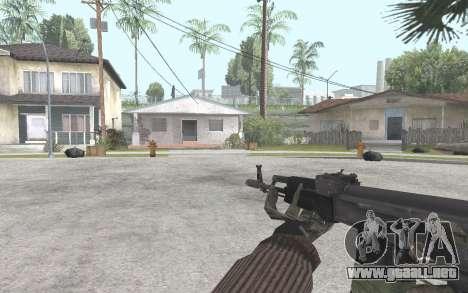 AK-101 para GTA San Andreas tercera pantalla