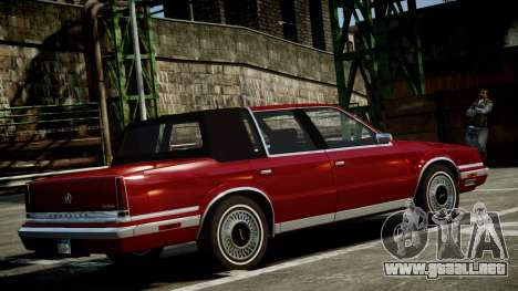 Chrysler New Yorker 1988 para GTA 4 left