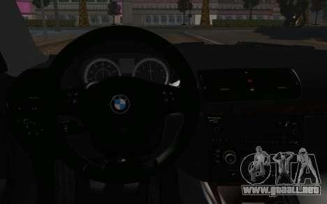 BMW 135i para la visión correcta GTA San Andreas