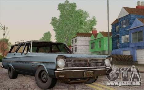 Plymouth Belvedere Station Wagon 1965 para GTA San Andreas