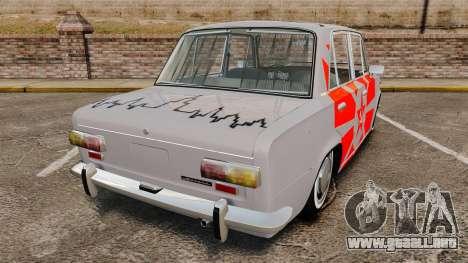 VAZ-Lada 2101 URSS para GTA 4 Vista posterior izquierda