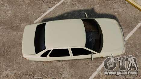 Vaz-2170 Lada Priora Luks para GTA 4 visión correcta