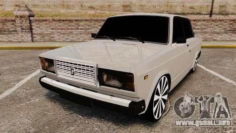 El USO de-Lada 2107 para GTA 4