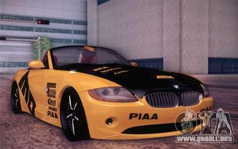 BMW Z4 V10 Stanced para GTA San Andreas left