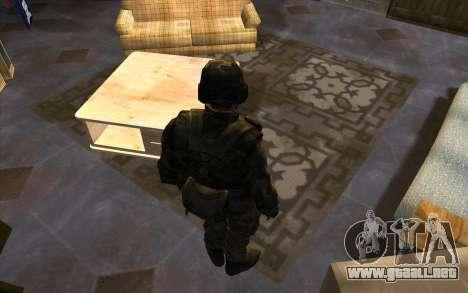 Los soldados de la SA y la de la guardia Naciona para GTA San Andreas segunda pantalla