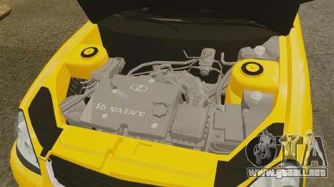 VAZ-Lada Priora 2170 para GTA 4 vista interior