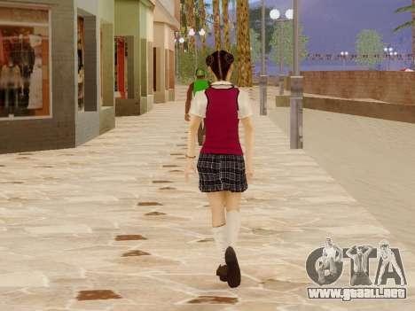Hanako para GTA San Andreas sexta pantalla