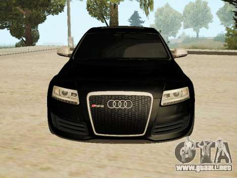 Audi RS6 para GTA San Andreas left