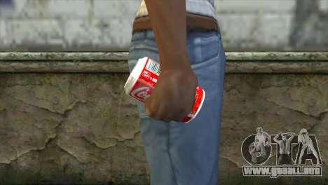 Explosive Coca Cola Dose para GTA San Andreas tercera pantalla