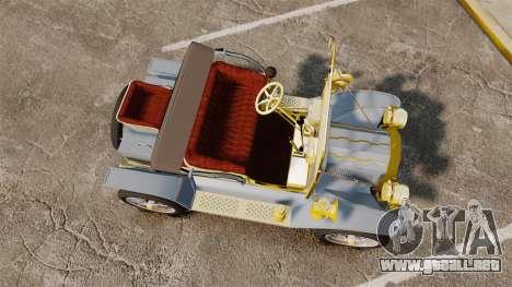 Ford Model T 1910 para GTA 4 visión correcta
