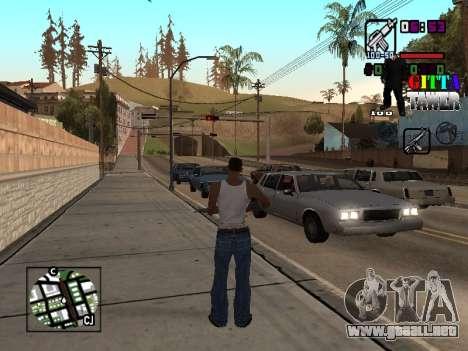 C-HUD A.C.A.B para GTA San Andreas