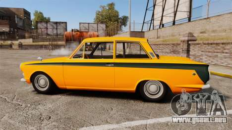 Lotus Cortina 1963 para GTA 4 left
