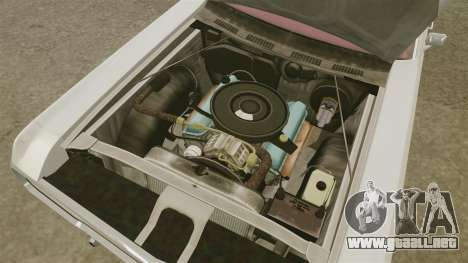 Dodge Polara 1971 para GTA 4 vista interior
