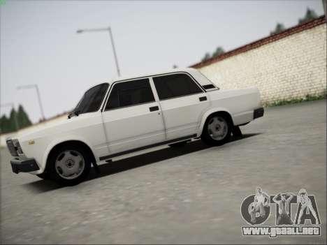 ВАЗ 21074 para visión interna GTA San Andreas