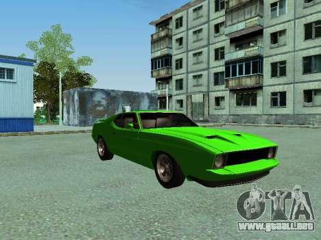 Ford Mustang para GTA San Andreas left