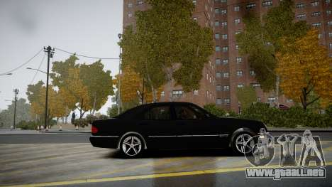 Mercedes-Benz E280 Beta para GTA 4 left