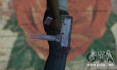 Tec-9 para GTA San Andreas tercera pantalla