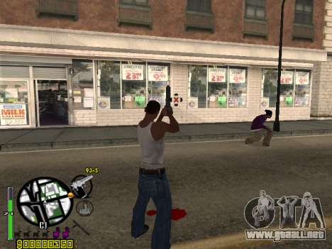 C-HUD by Leytenant para GTA San Andreas segunda pantalla