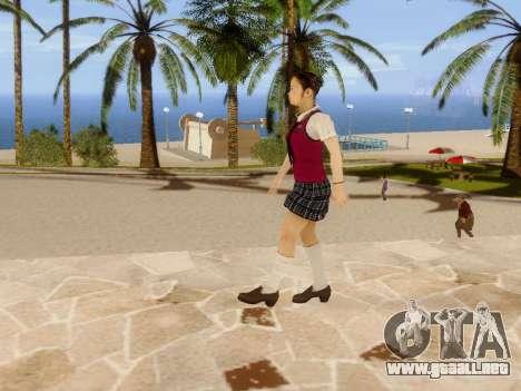 Hanako para GTA San Andreas octavo de pantalla