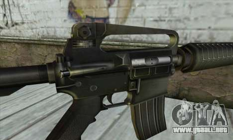 M4 из Conter Strike para GTA San Andreas tercera pantalla