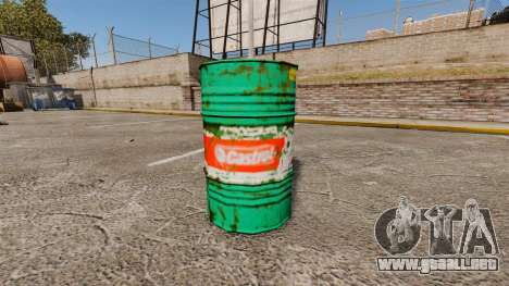 Nuevos libros para colorear para barriles para GTA 4 adelante de pantalla