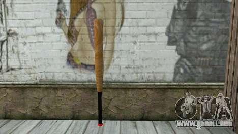 Bate de béisbol para GTA San Andreas