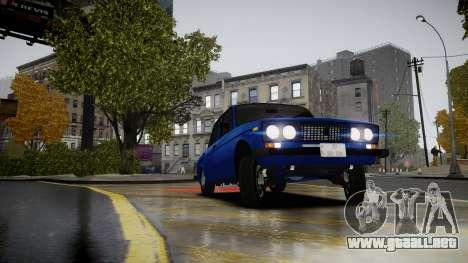 VAZ 2106 Baku para GTA 4 visión correcta