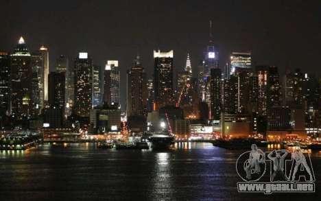 Pantallas de carga, Nueva York para GTA 4 octavo de pantalla