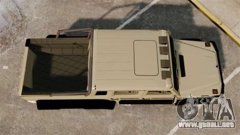 Mercedes-Benz G63 AMG 6x6 para GTA 4 visión correcta