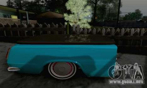 Trailer de Vaz 2102 para GTA San Andreas vista posterior izquierda