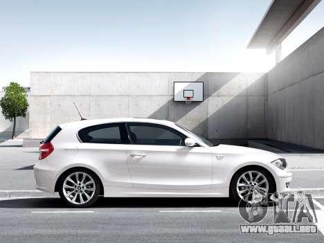 Inicio pantallas BMW 116i para GTA 4 adelante de pantalla