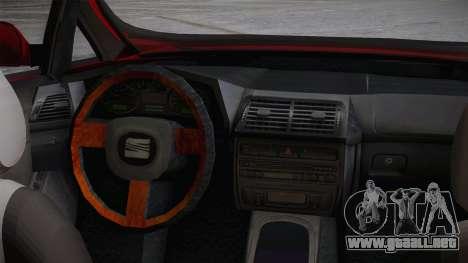 Seat Toledo 1.9TDi 2006 para la visión correcta GTA San Andreas