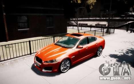 Jaguar XF-R 2012 v1.1 para GTA 4