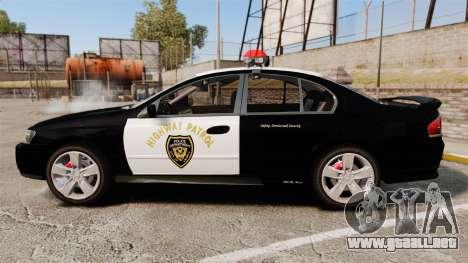 Ford BF Falcon XR6 Turbo LCHP [ELS] para GTA 4 left