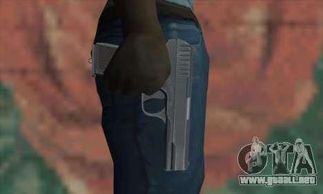 TT Pistol para GTA San Andreas tercera pantalla