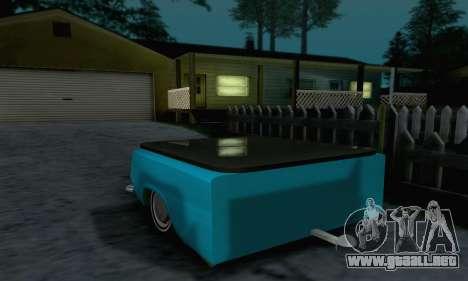 Trailer de Vaz 2102 para la visión correcta GTA San Andreas