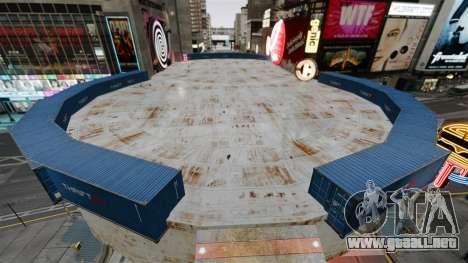 Open arena para vehículos de combate para GTA 4 segundos de pantalla