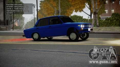 VAZ 2106 Baku para GTA 4