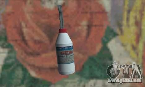 Una botella de alcohol blanco para GTA San Andreas
