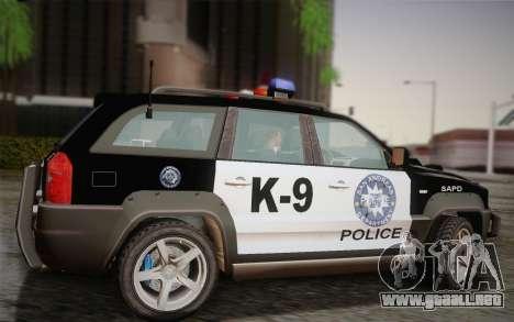 NFS Suv Rhino Heavy - Police car 2004 para GTA San Andreas left