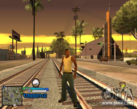 C-HUD Old School para GTA San Andreas